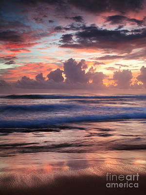 Tropical Beach Photograph - Tropical Sunrise by Matteo Colombo