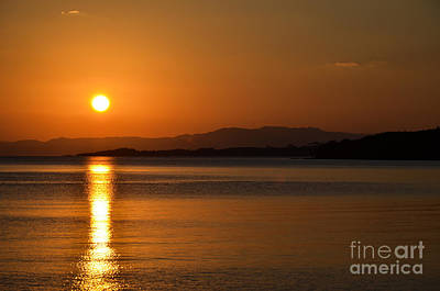 Photograph - Tropical Sunset by Kennerth and Birgitta Kullman