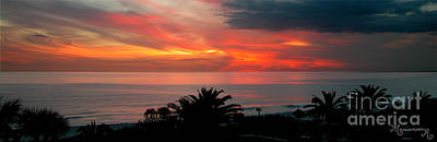 Photograph - Tropical Sunset by Mariarosa Rockefeller