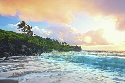 Photograph - Tropical Sunset Seascape by M Sweet