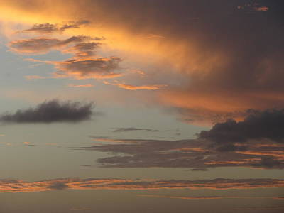 Photograph - Tropical Sunset Sky by Anita Burgermeister