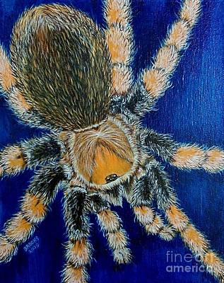 Painting - Tropical Tarantula  by Richard Brooks