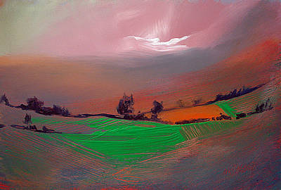 Painted Painting - Tropical Undertones by Neil McBride