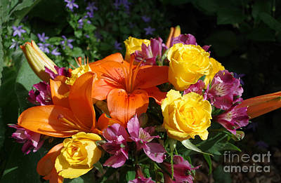 Photograph - Tropicalesque Bouquet4 by Janet Otto