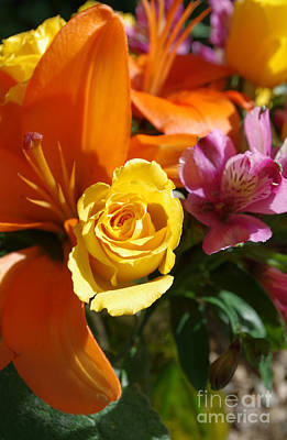 Photograph - Tropicalesque Bouquet6 by Janet Otto