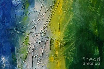 Quadro Painting - Tropicana by Andrea Anderegg