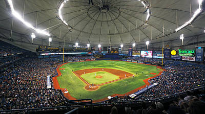 Photograph - Tropicana Field 2 by C H Apperson