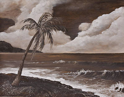 Painting - Tropics In Brown by Darice Machel McGuire