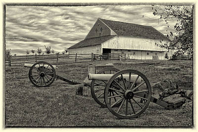 Photograph - Trostle Farm At Gettysburg Battle Field Img 9044  by Greg Kluempers
