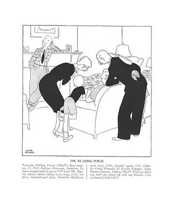 Trotter, William Trevor Red. Born January 23 Art Print