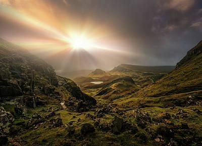 Scotland Wall Art - Photograph - Trotternish Ridge Light #3 by Matt Anderson