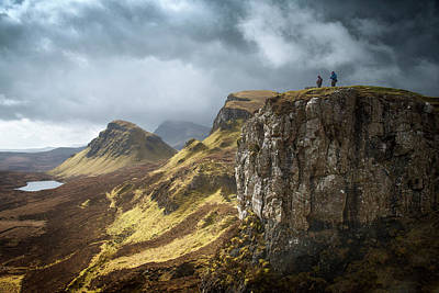 Photograph - Trotternish Ridge by Vividvista (philip Hunter)