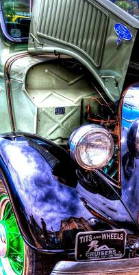 Jerry Sodorff Royalty-Free and Rights-Managed Images - Trouble City Ford 14833 by Jerry Sodorff