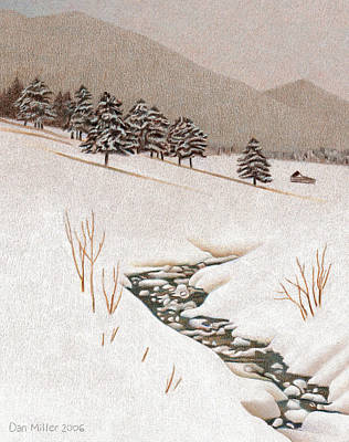 Troublesome Creek Art Print