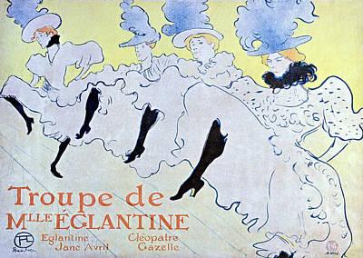 Troupe De Mlle Eglantine Art Print