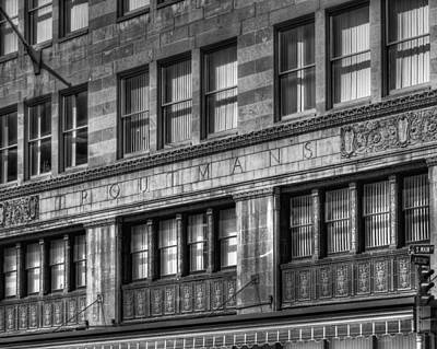Photograph - Troutmann's Building by Coby Cooper