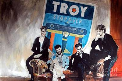 Troy Smith Painting - Troy Stopover by William III