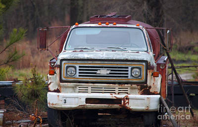 Photograph - Truck by Affini Woodley