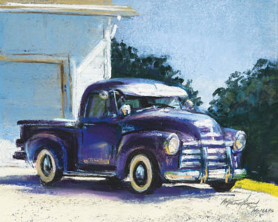 Pastel - Truck by Beverly Amundson