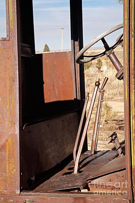 Photograph - Truck Cab by Fred Stearns