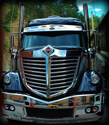 Photograph - Truck Face by Dany Lison