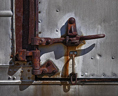 Truck Handle Print by Murray Bloom