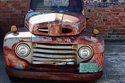 Ford In Goodland Art Print by Lynn Sprowl