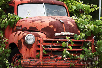 Photograph - Truck by John Rizzuto