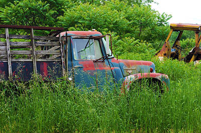 Photograph - Truck Plant by Kenneth Feliciano