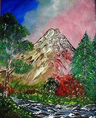 Painting - Truckee Mountain by The GYPSY