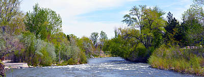 Photograph - Truckee River  by Brent Dolliver