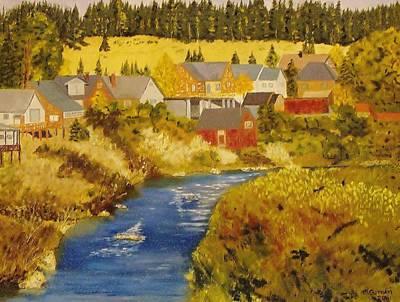 Truckee River - Truckee Ca Art Print