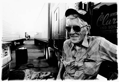 Trucker Jack The Trucker Original by Pete Ruppert