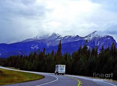 Photograph - Truckers Heaven by Christian Mattison