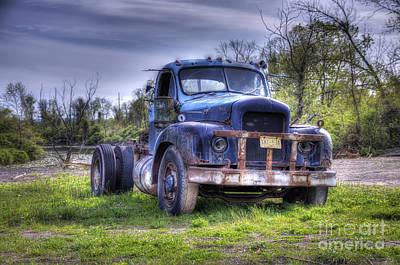 Photograph - Truckin by Rick Kuperberg Sr