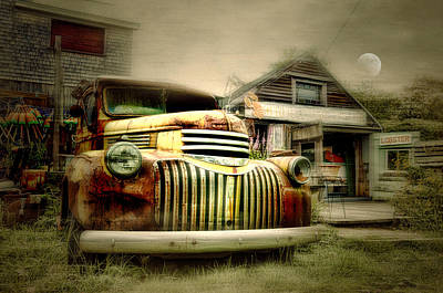 Photograph - Truckyard by Diana Angstadt
