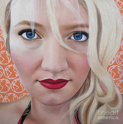 Painting - True Beauty - Katrina Schaman by Malinda Prudhomme