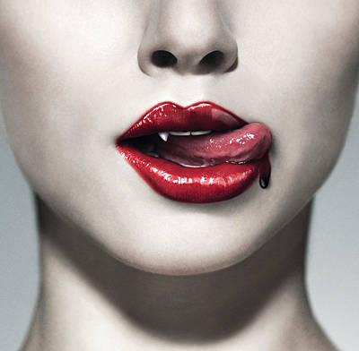 True Blood Digital Art - True Blood by Gift Factory