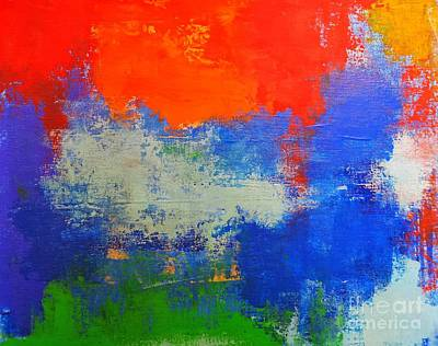 Painting - True Colors  by Jane Biven