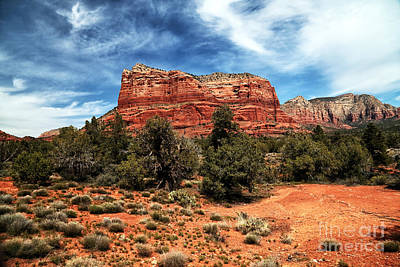 Photograph - True Colors In Sedona by John Rizzuto