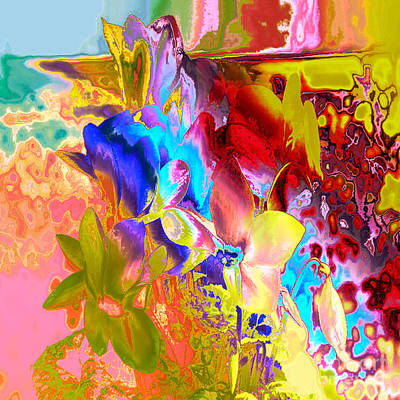 Digital Art - True Colours by Soumya Bouchachi