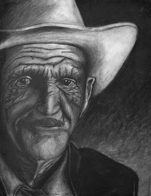 True Cowboy Art Print by Jay Alldredge