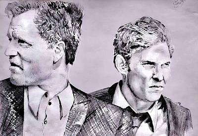 True Detective Original by Ezra Strayer