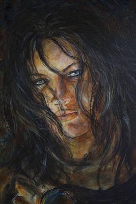 Painting - True Eyes by Nik Helbig