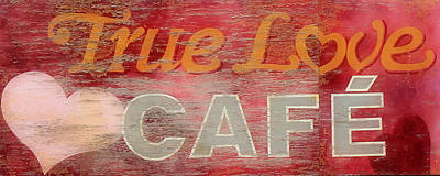 Photograph - True Love Cafe by Andrew Fare