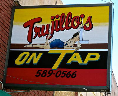 Photograph - Trujillos Bar And Restaurant by Jeff Gater
