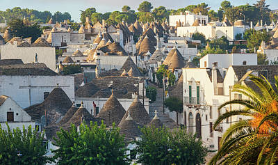 Alberobello Photograph - Trulli Houses, Alberobello, Apulia by Peter Adams