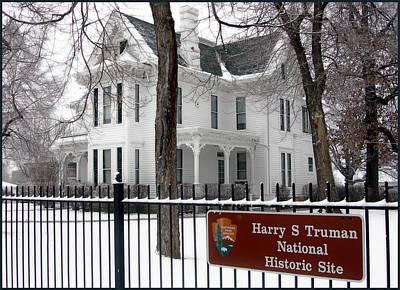 Truman Home Winter 2007 Art Print