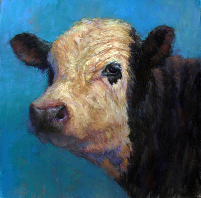 Painting - Truman by Susan Williamson