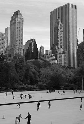 Trump Rink In New York City Art Print by Dan Sproul
